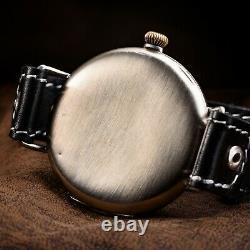 Omega Mens Military Watch Original Case 48mm Swiss Mechanical Hand-Winding Watch