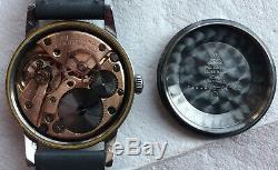 Omega Seamaster 30 mens wristwatch steel case load manual original signed crown