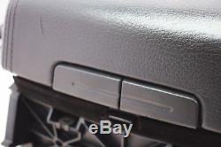 Orig. VW Touareg 7L Mittelkonsole Armlehne Mittelarmlehne Leder Grau 7L6863762D