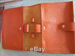 Original Ferrari 360 Modena Owner's Manual Schedoni Leather Case Pouch