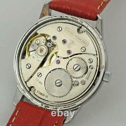Original Girard Perregaux All St Steel Screwdown Case Manual Wind Gents Watch