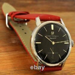 Original Girard Perregaux Manual Wind Steel Screwback Case Vintage Gents Watch