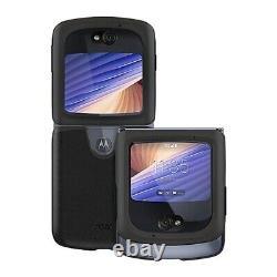 Original Motolora Razr 5G Folding Phone Leather Case Shockproof Cover Hard Shell
