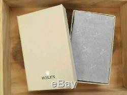 Original Rolex Lederetui Reiseetui Travel Watch Case Pouch Box Watch Leather