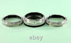 Original Rolleiflex/Rolleicord Rolleinar 2, Bay I (1) in original leather case