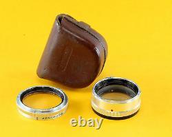Original Rolleiflex Rolleinar 2, Bay I (1), in original leather case