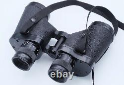 Original U. S. WWII M13A1 6x30 Binoculars with M17 Leather Case