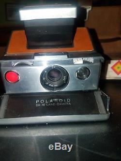 Original Vintage Polaroid SX-70 Leather Carrying Case withShoulder Strap