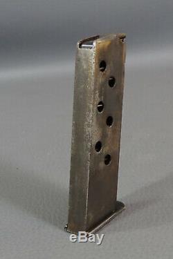 Original WWII German Officer Walther PPK 7.65mm Pistol Gun Magazine&Leather Case