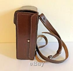 Original Ww2 German Hitler Youth Brown Leather Medical Case In Great Condition