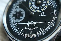 PILOT REGULATOR Vintage 1920`s Wide Face Original Swiss movement New Cased Watch