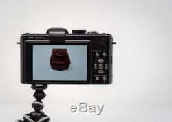 Panasonic mirrorless LUMIX DMC-LX5 with Leica lens & original leather case