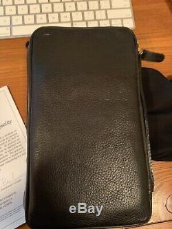 Peter James Leather Cigar Case Travel Brand New Never Used in Original Packaging