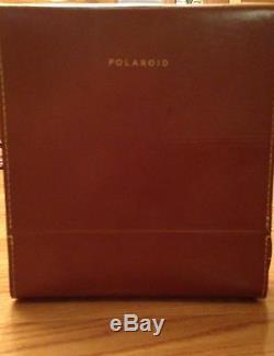 Polaroid Electric Eye Land Camera Model J66 With Original Polaroid Leather Case