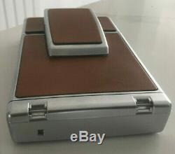 Polaroid SX-70 Land Camera Alpha 1 Brown with Original Hard Leather Case