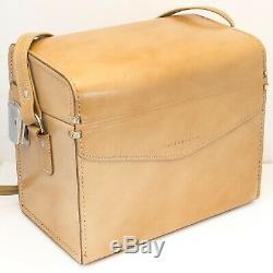 RARE Genuine/Original Hasselblad Pale Tan Leather Hard Case V system 500CM etc