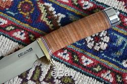 Randall Knife Knives Model Gamemaster Sheath With Case Leather Brass Duralumin