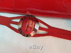 Rare 1970's Tressa Spaceman Manual Wind Fiberglass Man's Watch Original Case