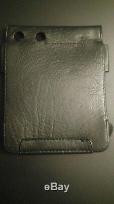 Rare sony discman d-555 original leather case very good condition