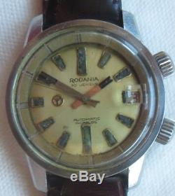 Rodania Super Compressor automatic mens wristwatch steel case all original