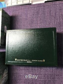 Rolex90s 68.00.02 leather box case Original For Datejust 16233 B-3