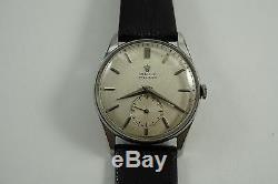 Rolex 4658 Steel Precision Vintage Calatrava Case Original Dial, Nice- Dates 1951