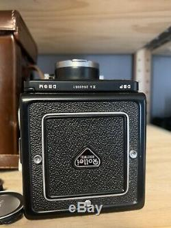 Rolleicord VB Xenar EXCELLENT Xenar 75mm F3.5 With Original Leather Case