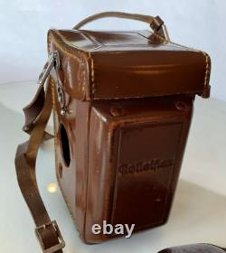 Rolleiflex 3,5F Planar with ORIGINAL Cap and Leather Case (Near Mint)