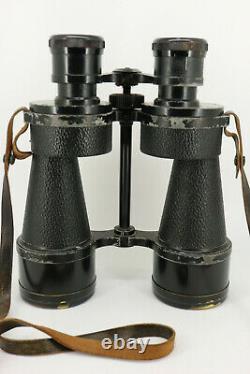 Ross of London 7x50 Steplux Marine Naval Binoculars + Original Leather Case