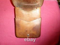 SIG P210 Original 1918 Date Swiss ARMY Leather Map Case MINT