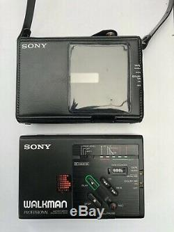 Sony WM-D3, restored. With original leather case! New center gear