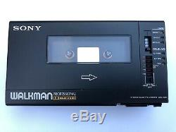 Sony WM-D6C serviced! With original ECM-909, leather case and charger