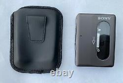 Sony WM-DD33, serviced! With original leather case. Very beautiful