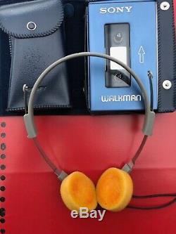 Sony Walkman TPS-L2, with original headphones, leather cases, near mint