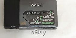 Sony dat tape player wmd-dt1 in good working order with original leather case