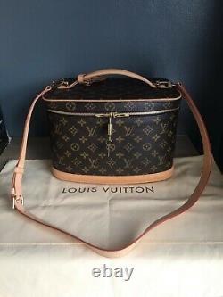 Stunning Authentic Louis Vuitton Vanity Nice Case with original receipt