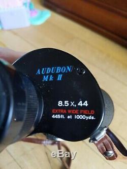 Swift Audubon MkII 8.5x44 Binoculars with Original Leather Case