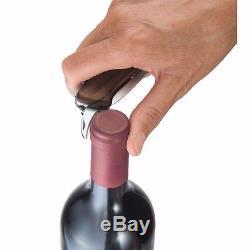 Swiss Army Victorinox Wine Master Olive Wood Knife & Leather Case Nib