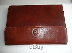 The Bridge Leather Co Conference Folder / Writing Case / Portfolio / Filo Fax