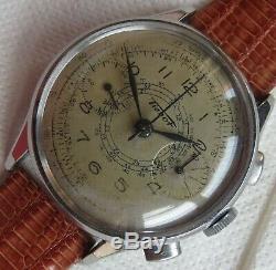 Tissot cal. 33.3 chronograph mens wristwatch steel case all original