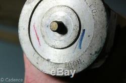 US WW1 WW2 Engineer Artillery Survey Binocular Tripod With Canvas & Leather Case
