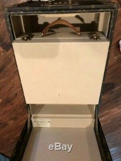 Used(Original owner)Louis Vuitton Monogram Travel Hard Case(Make up case)