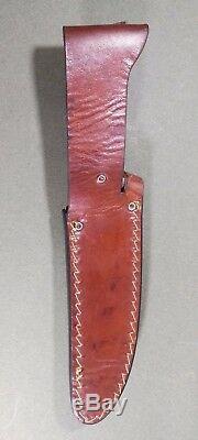 VICTORINOX HUNTER Vintage Knife. Leather Case