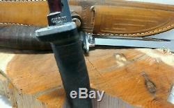 VINTAGE CASE XX USA TWIN FINN Knife Set M3F & 316-5 FIXED BLADE HUNTING WithSheath