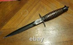 VTG 1992 Case XX Devils Brigade V-42 Stiletto First Special Service Force Dagger