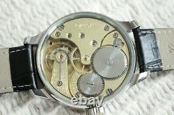 Vintage 1916` Wide Face Original Swiss movement rare UNIQUE New Cased Wristwatch