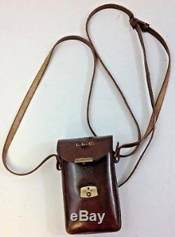 Vintage 1920's Carl Zeiss Jena Telita 6x18 Opera Glasses & Original Leather Case