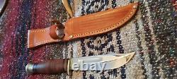 Vintage 40's 60's CASE USA 364 Fixed Blade Hunting Knife with Original Sheath
