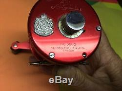 Vintage Abu Garcia Ambassadeur 5000 Reel Original Box, Tools Leather Case Manuel