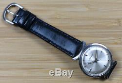 Vintage BULOVA ACCUTRON M7 1967 Stainless Steel Bowtie Case ORIGINAL Runs Great